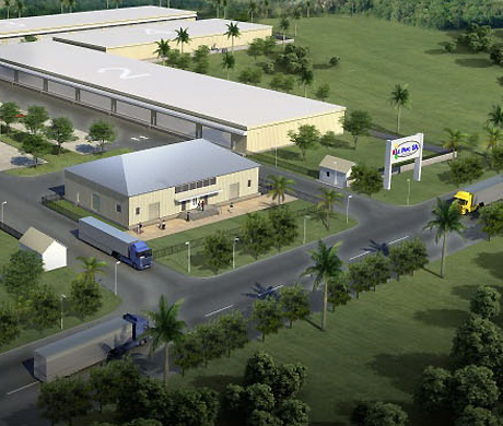 Le Parc warehousing facility in Haiti